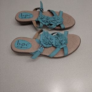 B.o.c. sandals. Turquoise blue color. Size 7/8.